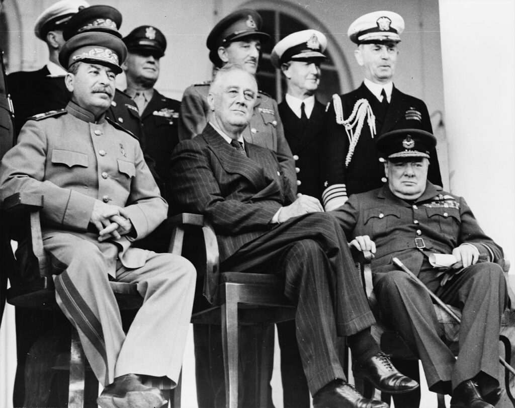 Tehran_Conference_for_agreement_on_allied_invasion_of_France
