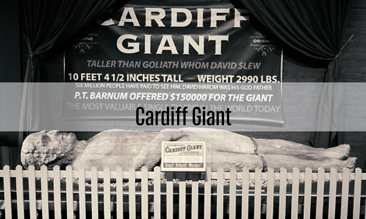 Cardiff Giant: ยักษ์แห่งคาร์ดิฟฟ์
